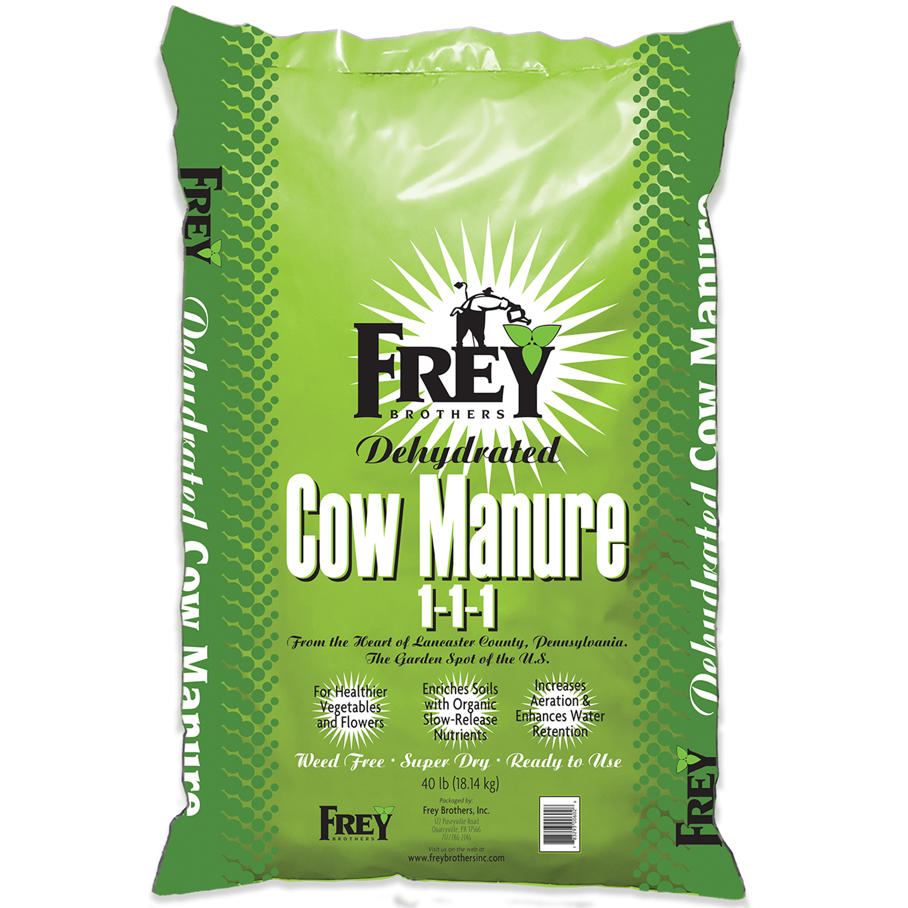 Dehydrated Cow Manure 1-1-1