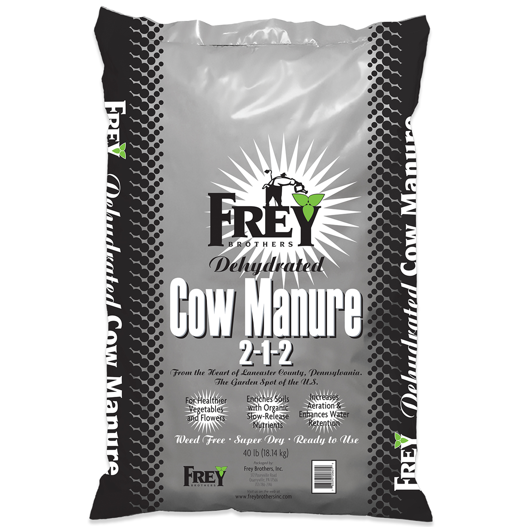 Dehydrated Cow Manure 2-1-2